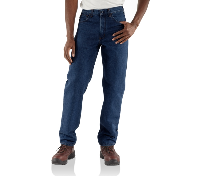 Carhartt Relaxed-Fit FR Denim Jeans