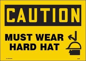 caution hard hat