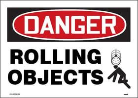 danger rolling objects