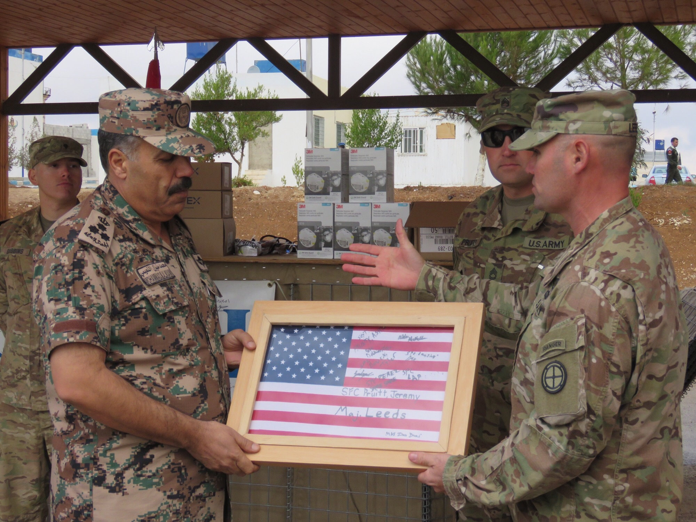 RMI helping Jordanian soldiers