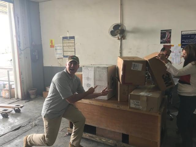 RMI safety supplies in Jordan