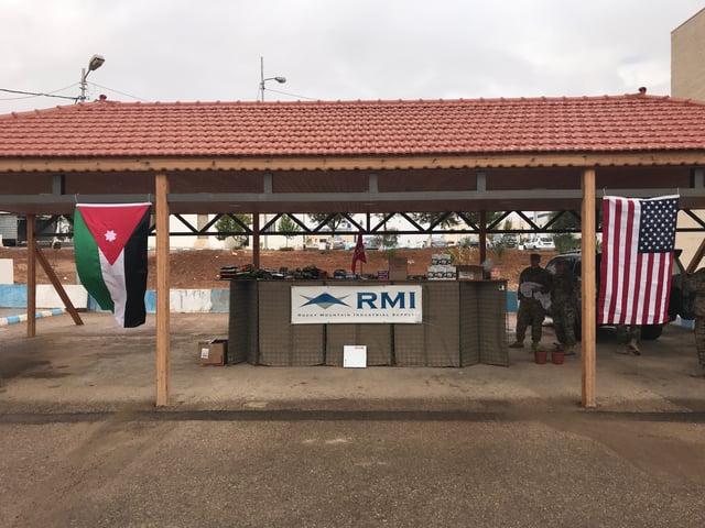 RMI flag in Jordan