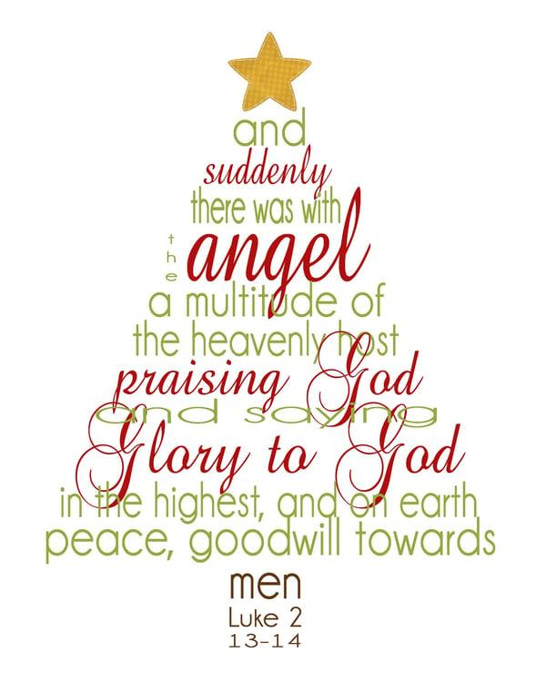 christmas tree bible story